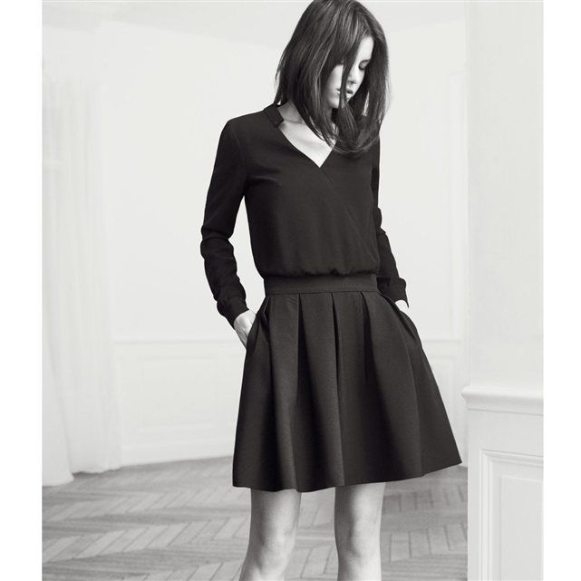 dress Robe bi amp;SH La matière BA amp;SH pattern Two pour Redoute BA RzwSRxnqr