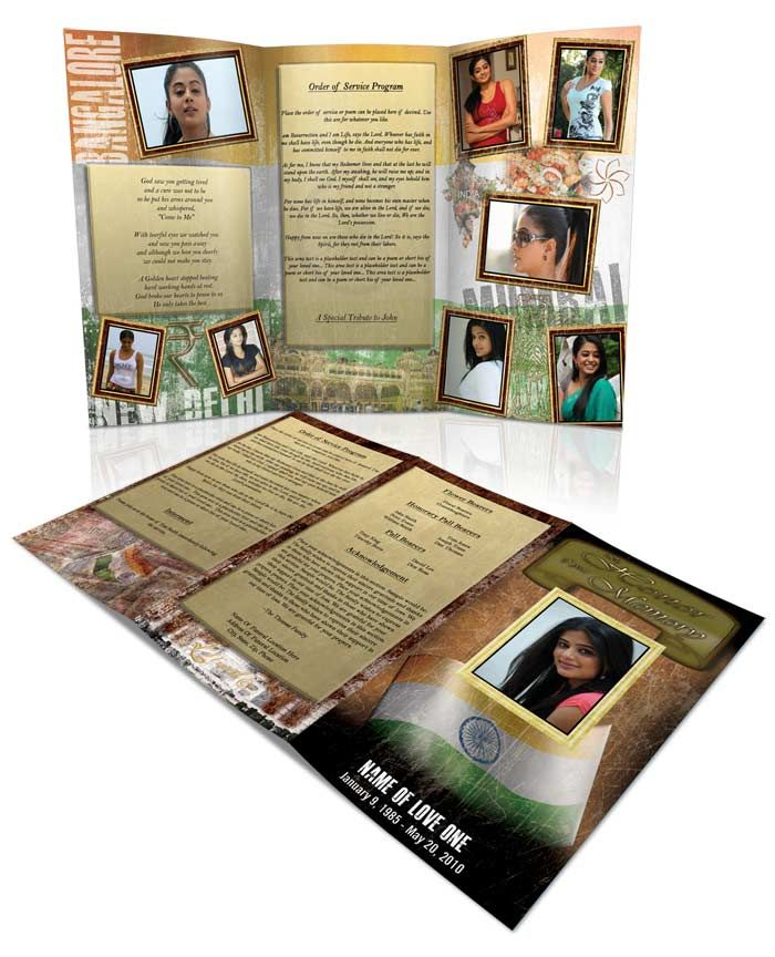 Funeral Program Templates Program template, Other and Template - 35 printable obituary