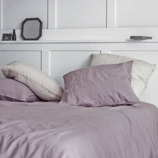 Rowen & Wren Dusty Rose Linen Pillow Cases, Set Of Two | NOTHS.com