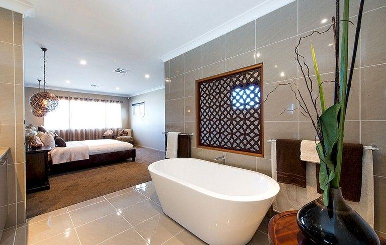 59 Marvelous Open Bathroom Concept For Master Bedrooms Decor