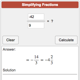 simplest form mixed number calculator Convert an improper fraction to a mixed number. Calculator to