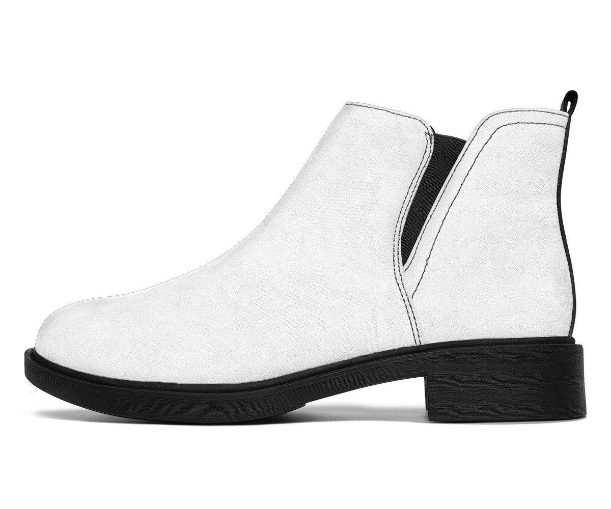 Photo of White Fashion Ayasha Fashion Boots – Women's Fashion Boots – White  Fashion Ayasha Fashion Boots / US8.5 (EU40)