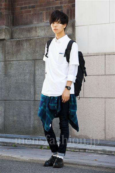 ファッションコーディネート原宿・表参道 2014年10月 佐川 隼さん|メンズファッション.