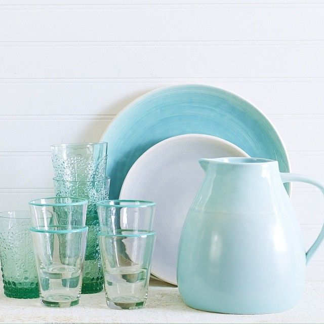 Our Sea Gate collection and vintage glasses #chaptersindigo #IndigoHome #Instagram