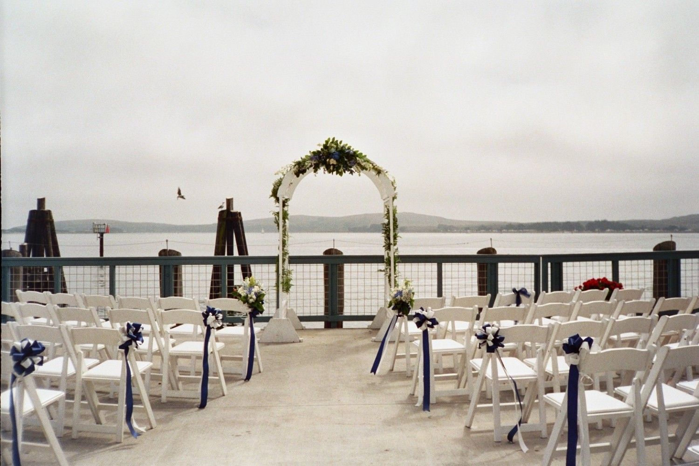 Dock Wedding The Tides Wharf Bodega Bay Ca