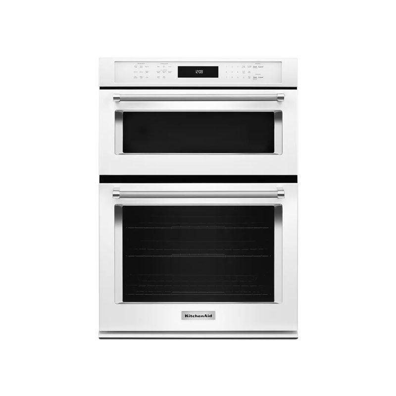 Kitchenaid 30 combination wall oven with evenheat true