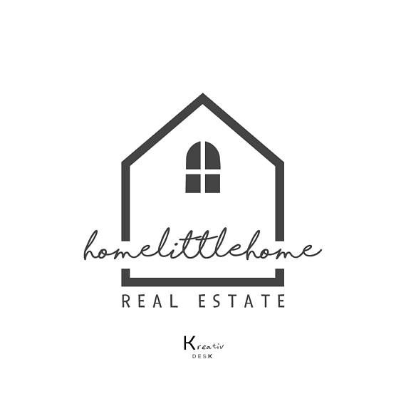 Instant Download Home Logo Design House Real Estate Logo Home Decor Company Premade Logo Etsy Shop Logo Interior Design Logo Art Logo Interior Designer Logo House Logo Design Real Estate Logo
