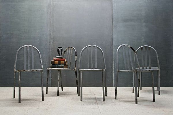 Sedie Industriali ~ Vintage french industrial chairs.png decoist pics pinterest