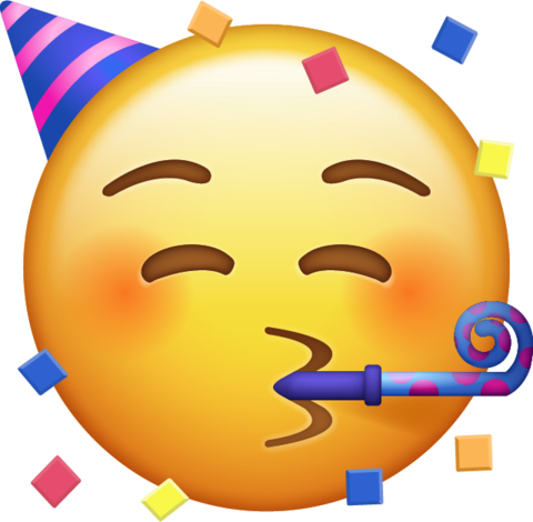 Party Face Emoji Emoji faces, Emoji pictures, Ios emoji