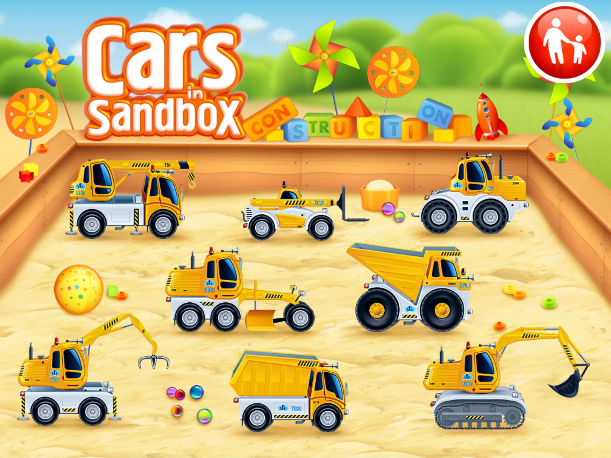 Cars in sandbox Construction Review