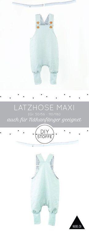 Photo of Latzhose Maxi – Anleitung & Schnittmuster | DIY Stoffe