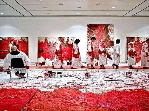 64th Malaktion, Hermann Nitsch, 2012