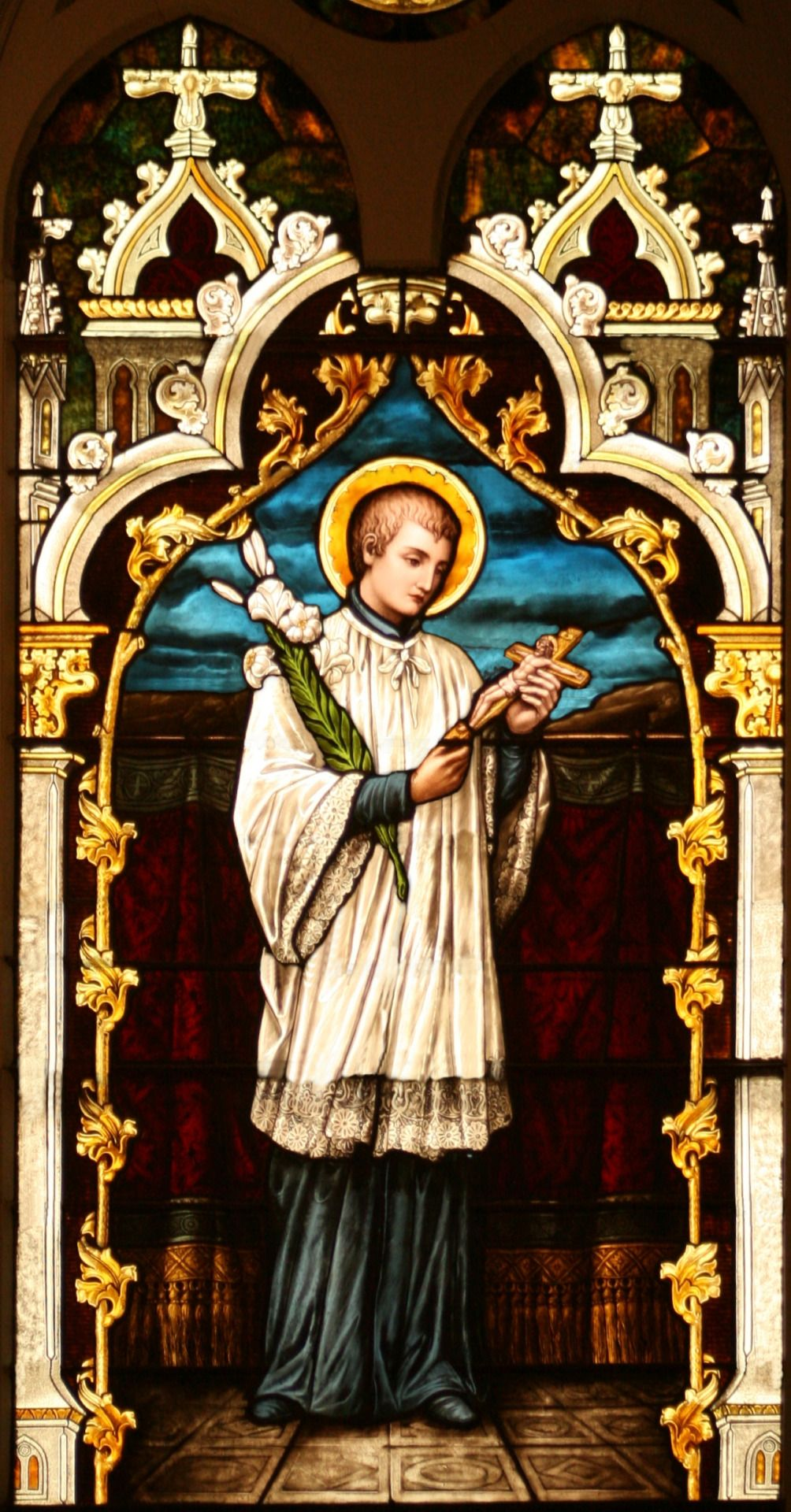 June 21 Saint Aloysius Gonzaga The Patron Of Youth And
