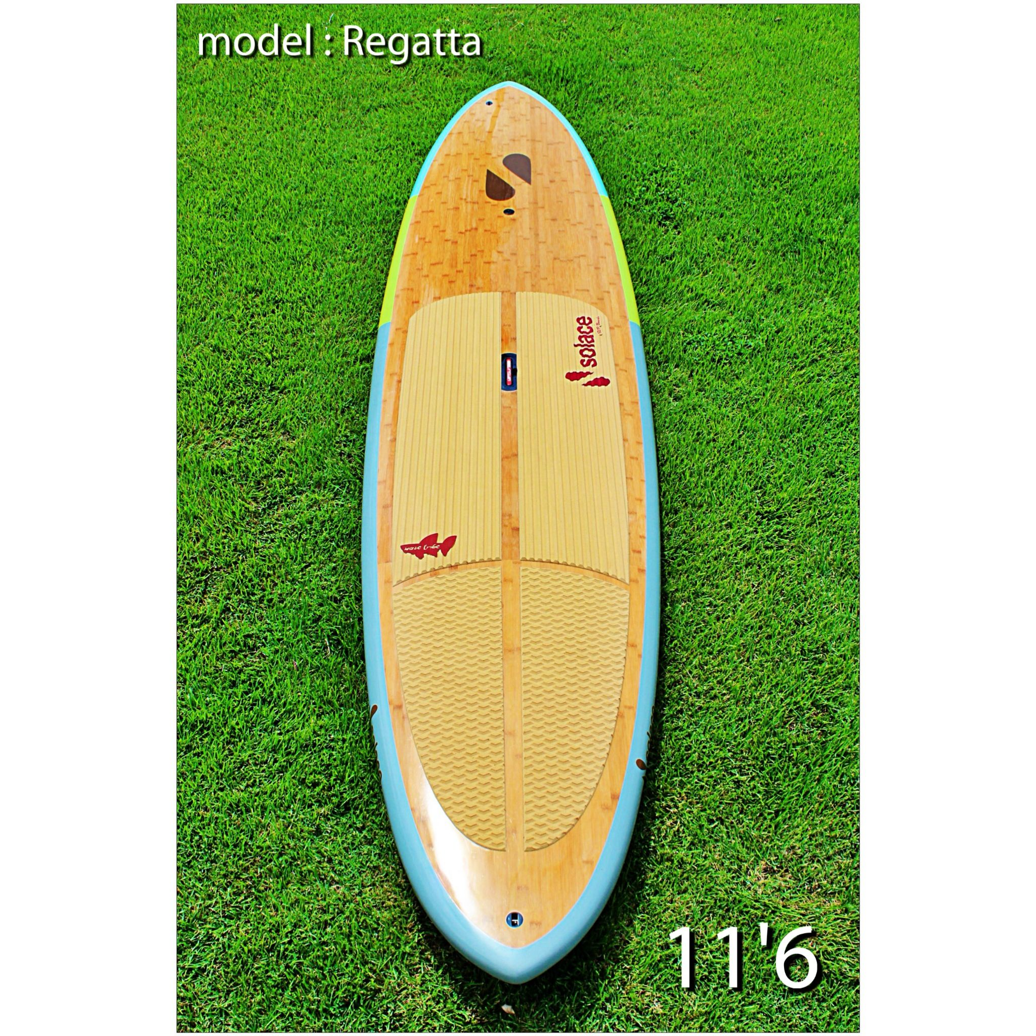 a49c2ecf8 Our Regatta model with a natural customized cork deck pad. Standup Paddle  Board