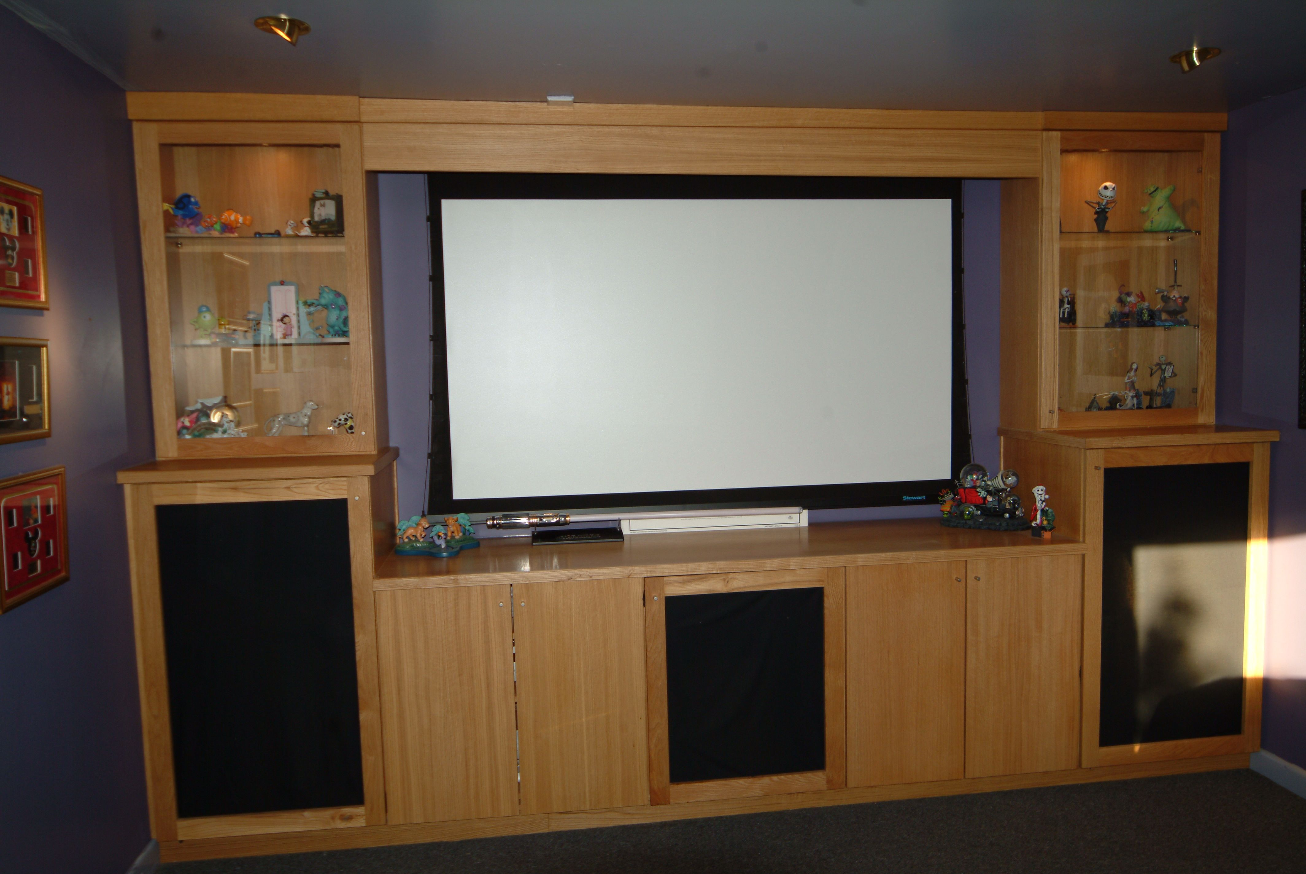 Media surround designs and ideas  by the Wall Panelling Team : ))