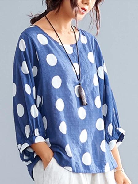 Shes unique. cutest vintage chevron print ruffle collar blouse