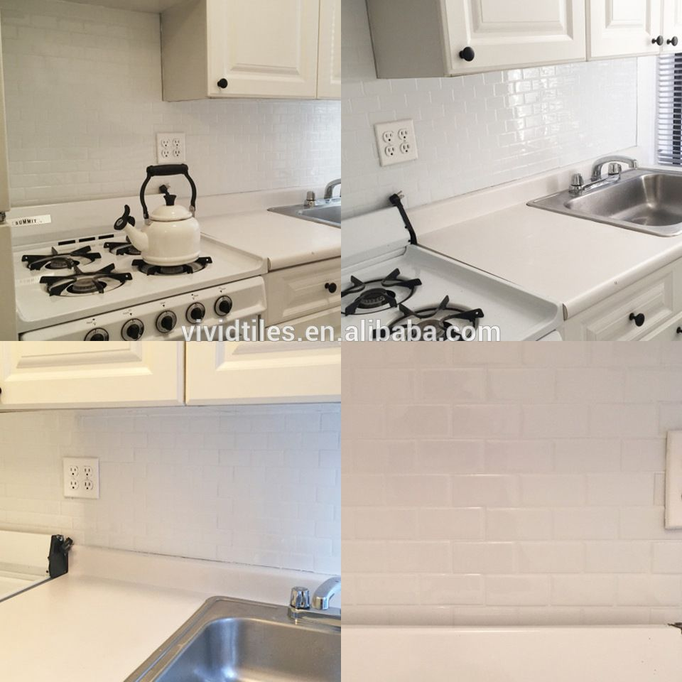 Kitchen Splashbacks Self Adhesive Wall Tiles Enjoy Cooking 3d Gel