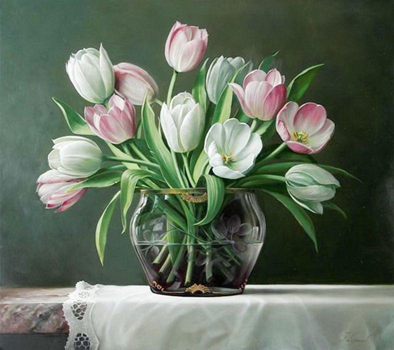 Pieter Wagemans çiçek Pinterest Tablolar çiçekler Ve Akrilik