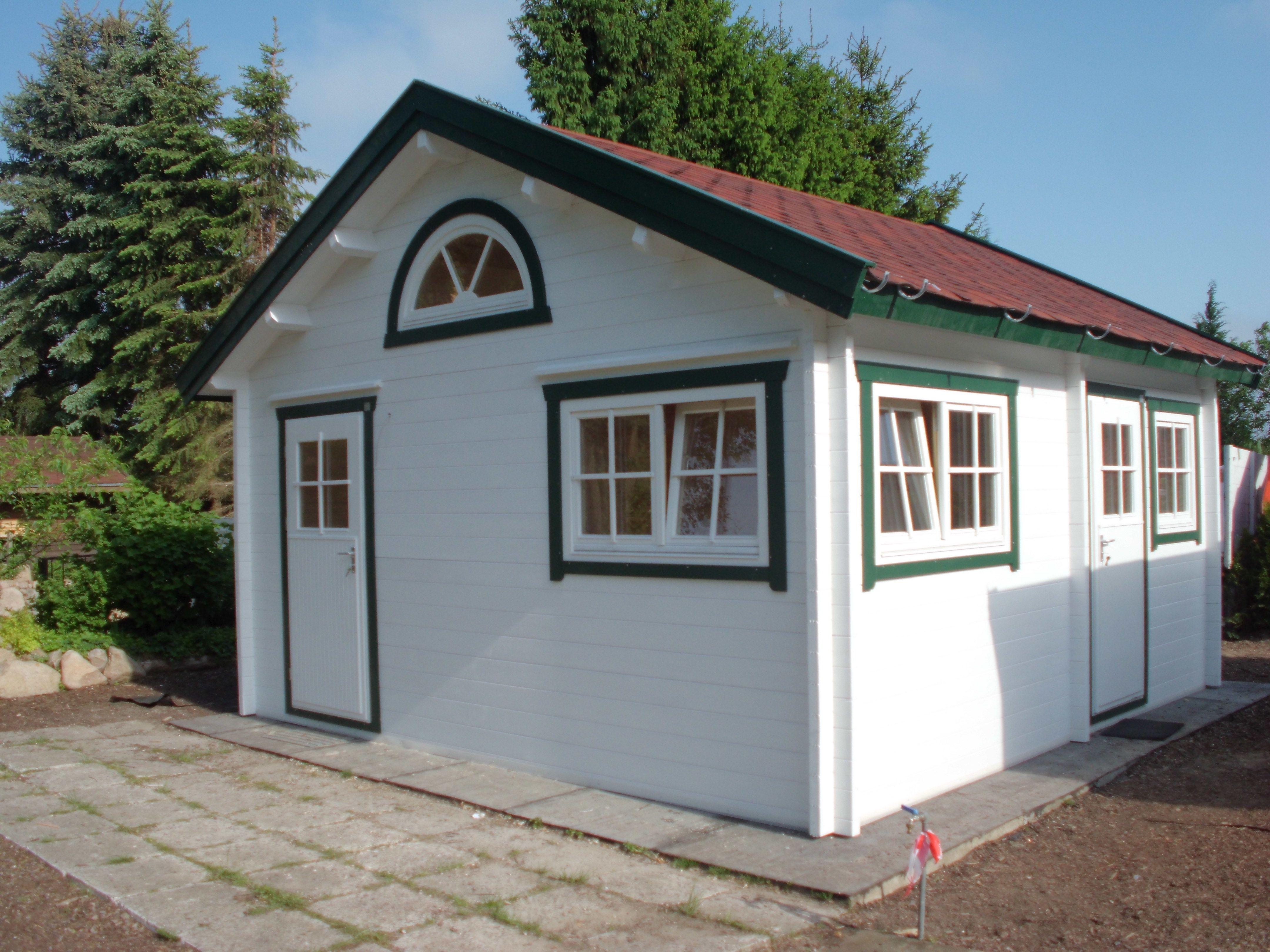 Pin von Grave Holzhäuser auf Gartenblockhäuser Haus
