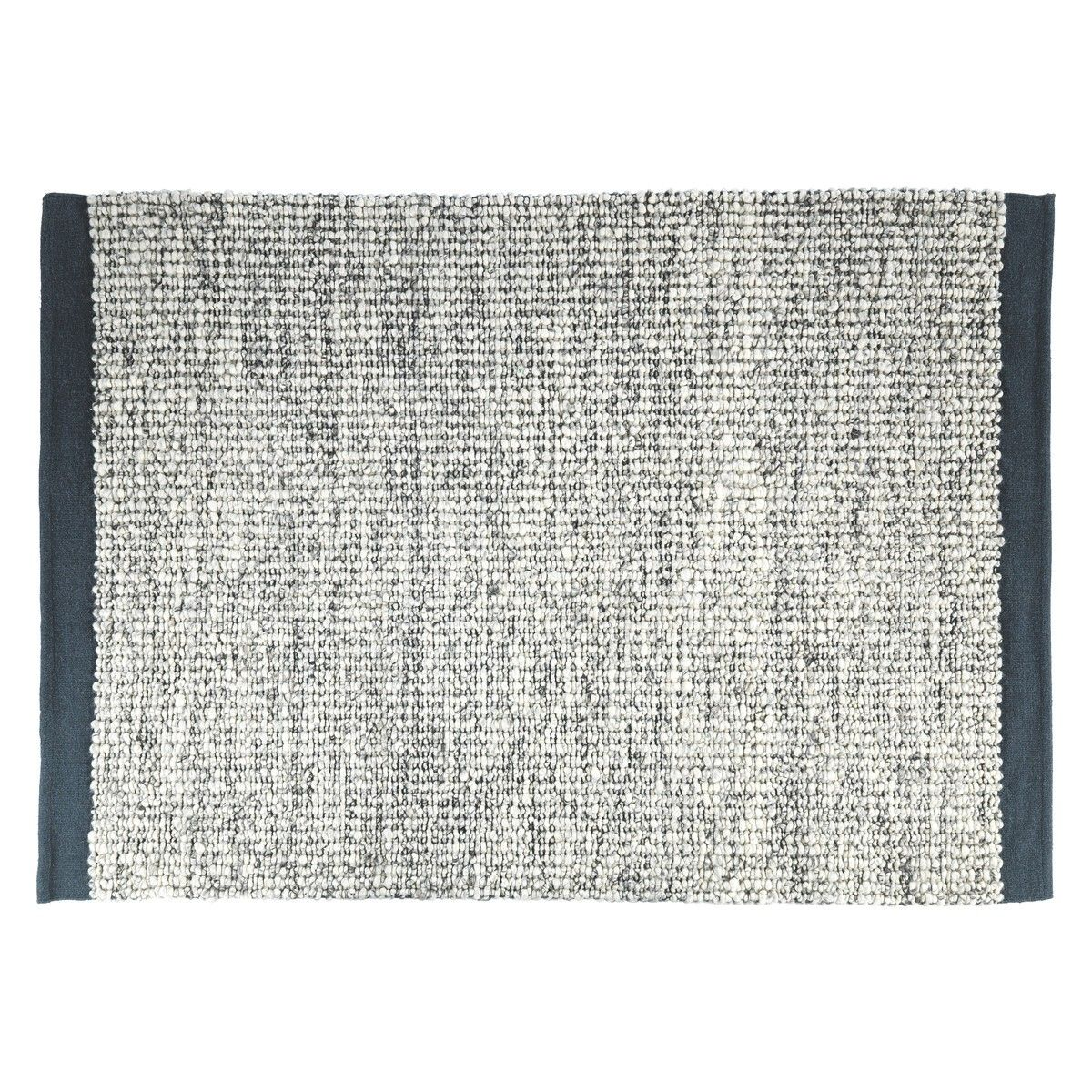 Kenny Grey Large Grey Wool Flatweave Rug 170 X 240cm Grey Wool Rugs Flat Weave Wool Rug Flat Weave Rug