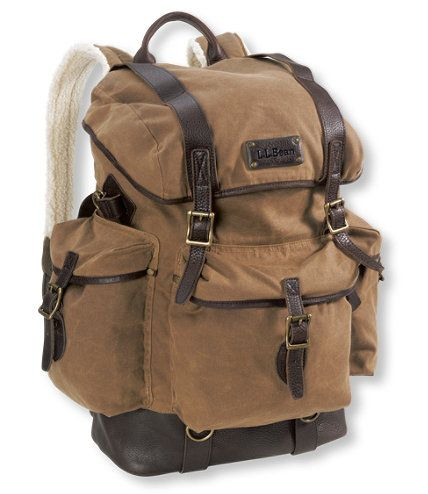 Perfect For Travel Waxed Cotton Continental Rucksack