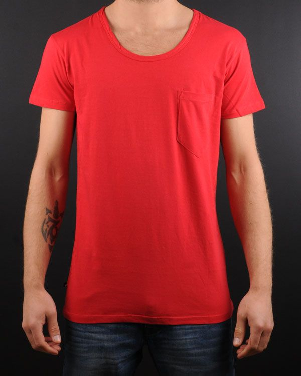 Dr Denim - 1131138 Joey 450 red t-shirt