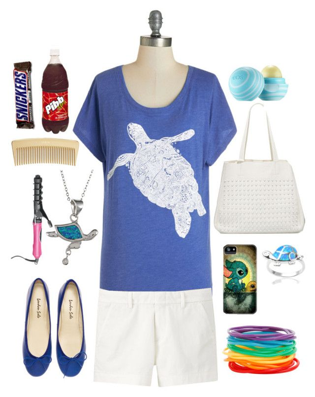 """""""Totally Turtles"""" by eemsles ❤ liked on Polyvore featuring Uniqlo, Urban Originals, Journee Collection, La Preciosa and AERIN"""