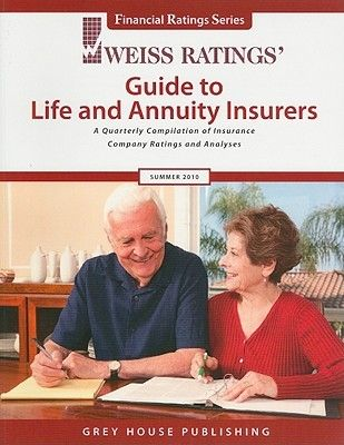 Weiss Ratings Guide To Life And Annuity Insurers A Quarterly Compilation Of Insurance Company Ratings And Analyses Annuity Life Insurance Broker Life