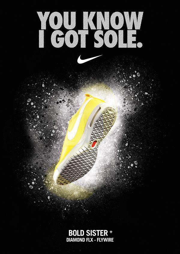Nike tennis posters