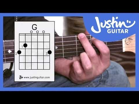 E Chord - Easy Third Guitar Chord - Beginner Guitar Lessons Stage 1 ...