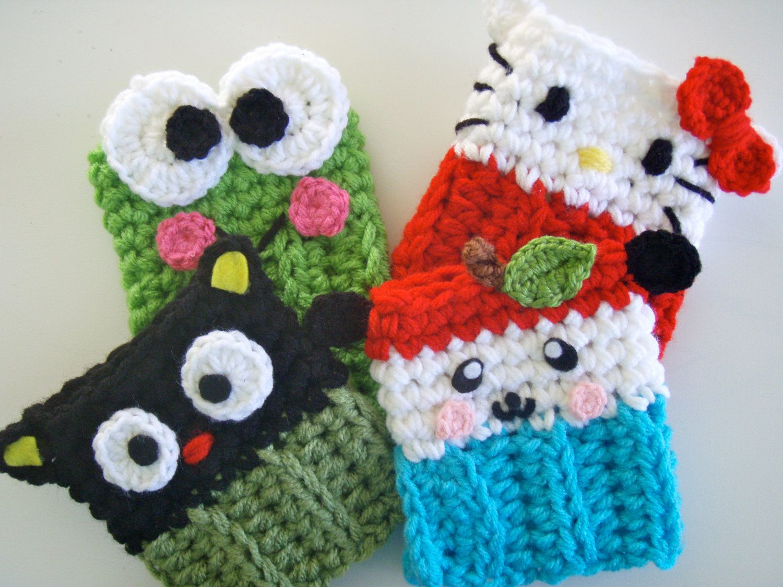 Crochet Sanrio Choco Cat Coffee Cozy PATTERN PDF for 5\