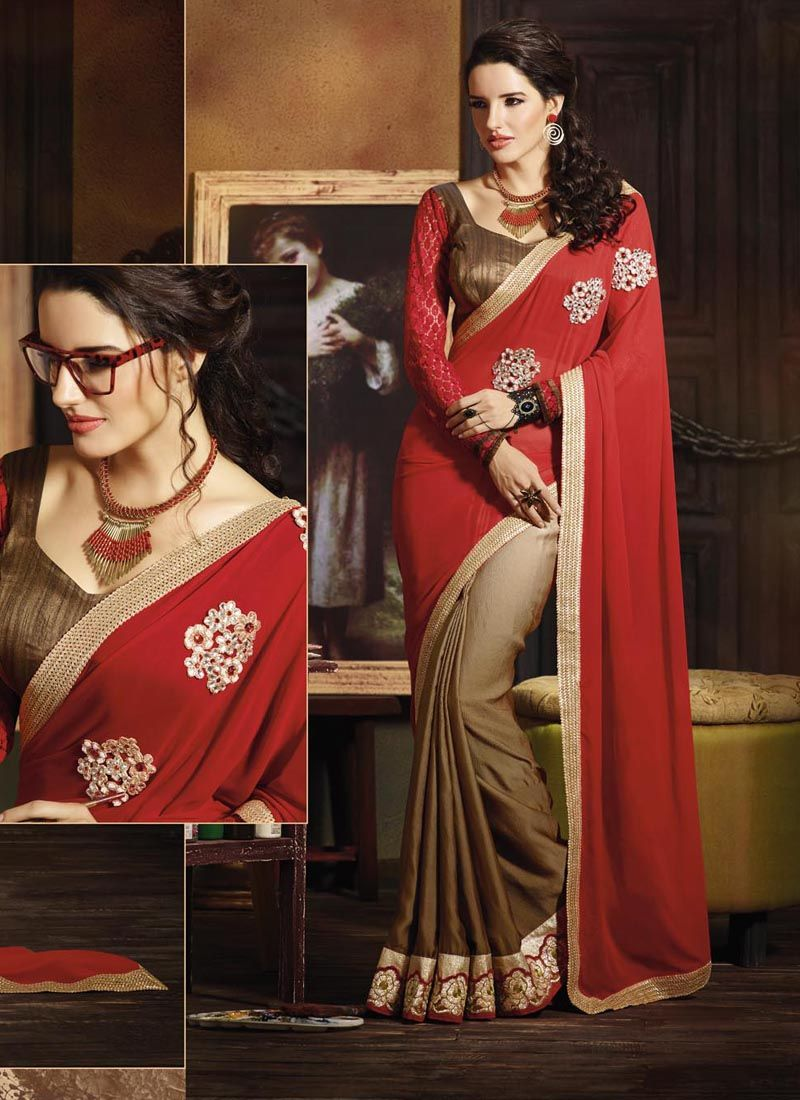 Wholesale Party Wear Green Designer Sarees Collection Full