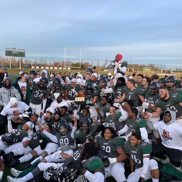 College Of Dupage On Instagram The Chaps Are Once Again Red Grange Bowl Champions After Defeating Itascacommunitycollege 1 College Of Dupage Chaps Instagram