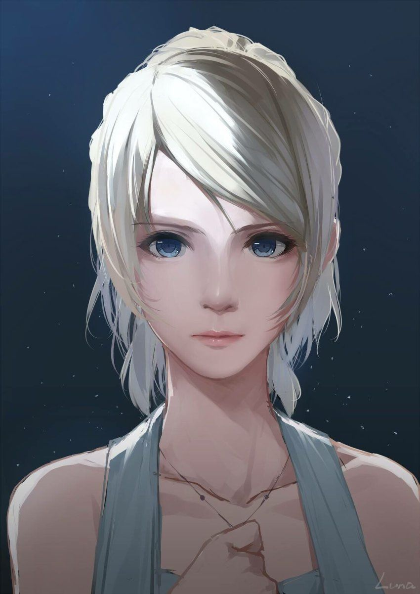 Blonde Character Inspiration: 1girl Blonde_hair Blue_eyes Caidychen Character_name