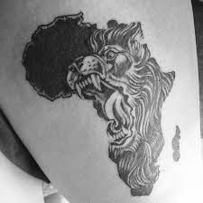 See more tattoo ideas on http://tattoosaddict.com/amazing-angry-african-lion-face-tattoo.html amazing angry african lion face tattoo - http://goo.gl/0Ndj0O #African, #Amazing, #Angry, #Face, #Lion, #Tattoo