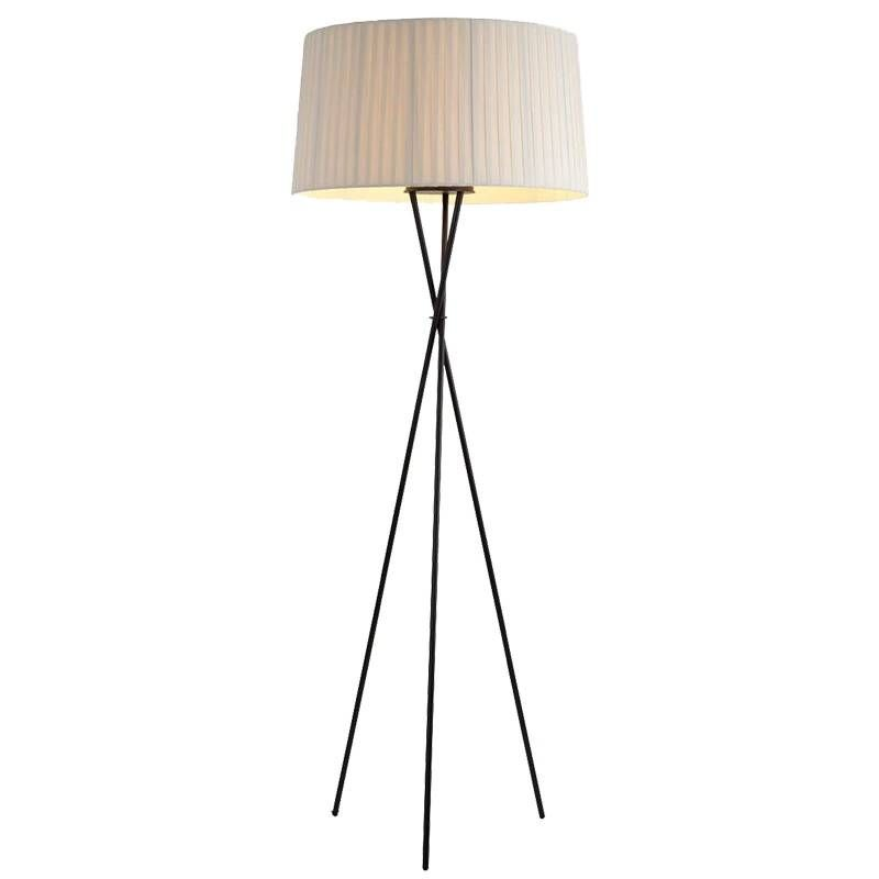 Creative Simple Floor Lamps Fabric White Black Red Lampshade Standing Lamp Living Room Bedroom Home Decoration Floor Lighting Standing Lamp Living Room Lamps Living Room Simple Floor Lamp #red #lamps #for #living #room