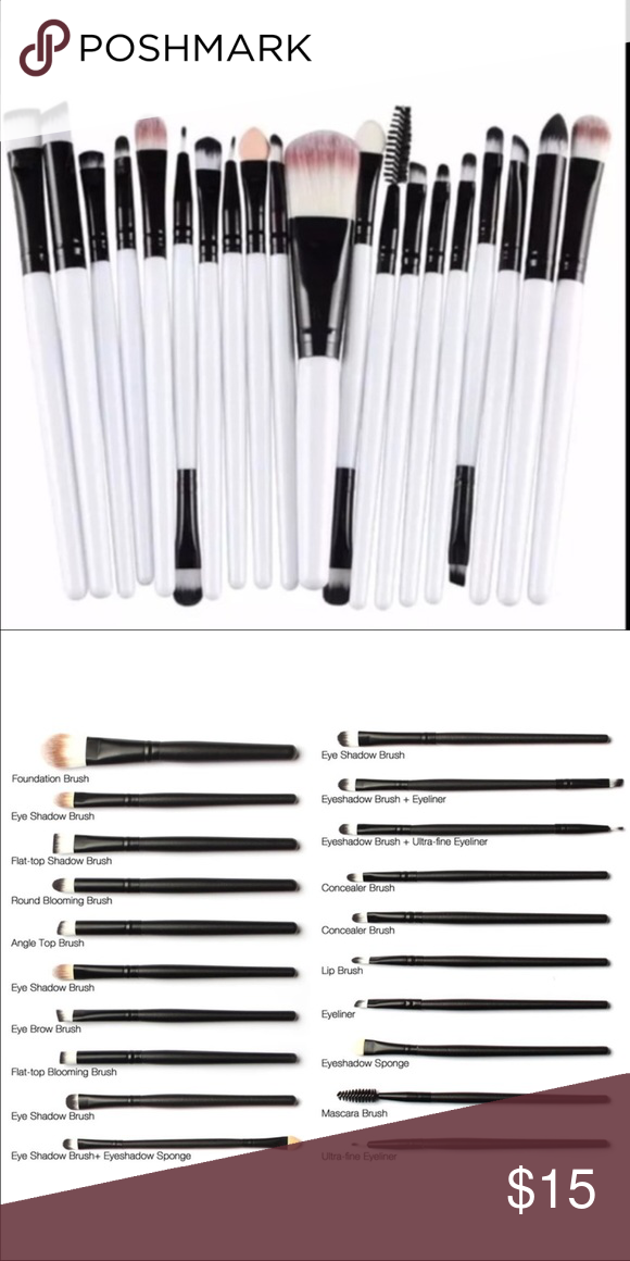 New 20pcs brushes set 20pcs Eye Makeup Brushes Set Eyeshadow Blending Brush Powder Foundation Eyeshadading Eyebrow Lip Eyeliner Brush Cosmetic Tool Makeup Blush