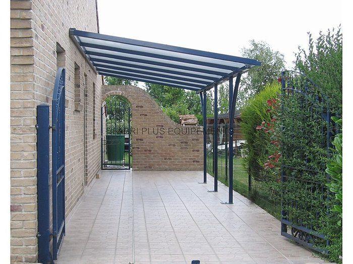 Steel Carport Polycarbonate Covering Lineo Abri Plus Sadovye Idei Besedka Landshaft