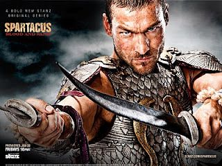 spartacus HBO series!  RIP!  Awesome Actor!