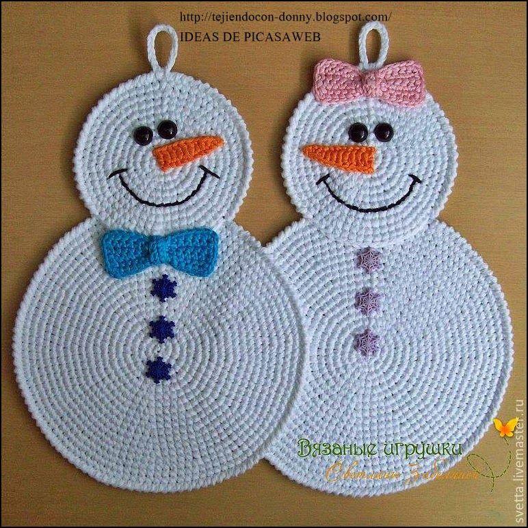 Tejidos a crochet ganchillo patrones tejidos a - Adornos navidenos ganchillo patrones ...