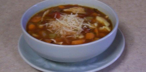 Crock Pot Easy Minestrone Soup