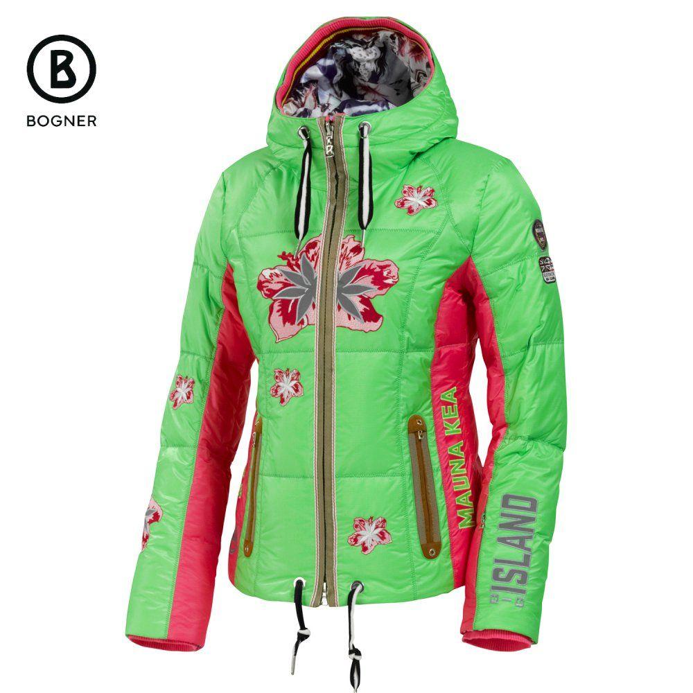 guter Verkauf großer Diskontverkauf geeignet für Männer/Frauen Bogner Lanea-D Down Ski Jacket (Women's) - Coriander 1049 ...