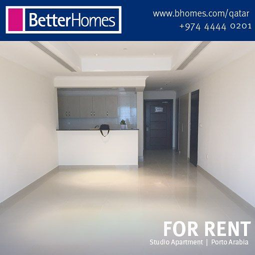 For Rent Semi Furnished Open Planned Studio Apartment Located In A Brand New Tower