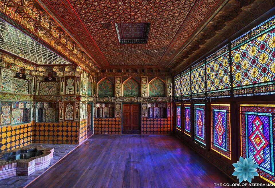 Shaki Khan Palace Islamic Architecture Persian Palace Eiffel Tower Inside