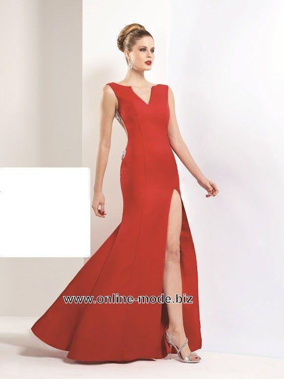 Sexy Cut Out Abend Kleid in Rot | Rote Kleider online kaufen ...