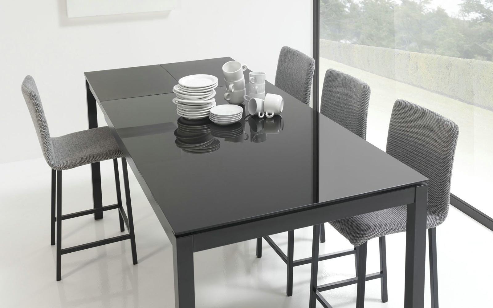 Mobliberica Tisch Velik Glas große Tischplatte ideal für