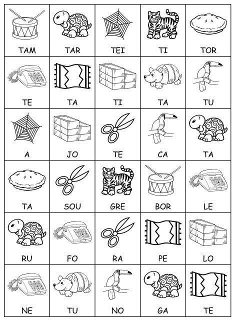 Preferência ALFABETIZAÇÃO CEFAPRO DE PONTES E LACERDA : Jogo das sílabas com o  EX67