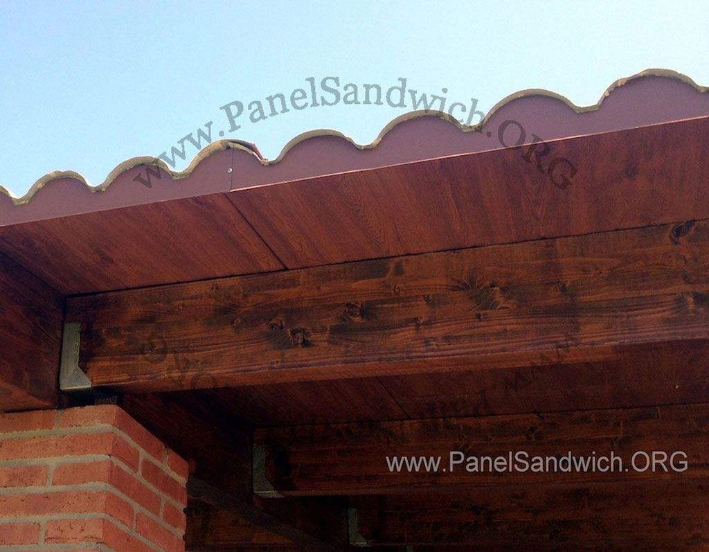 panel sandwich imitación teja - madera   Decoración   Pinterest ...