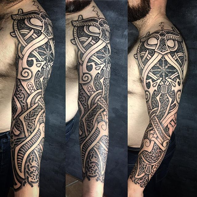 Tyr The God Of War This Is Partly A Travel Cover Up I Hope It S Not Too Obvious Viking Vikingta Scandinavian Tattoo Viking Tattoo Sleeve Celtic Tattoos