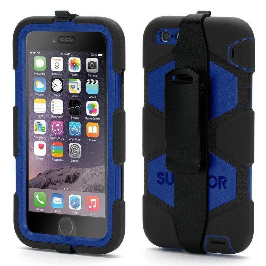 Griffin survivor tough rugged case cover for apple iphone